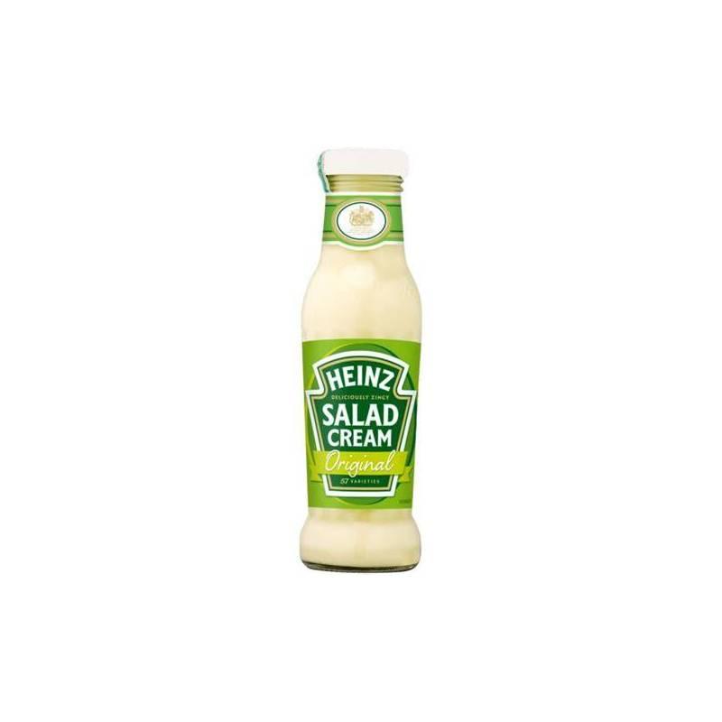 HEINZ SALAD CREAM 285G GLASS