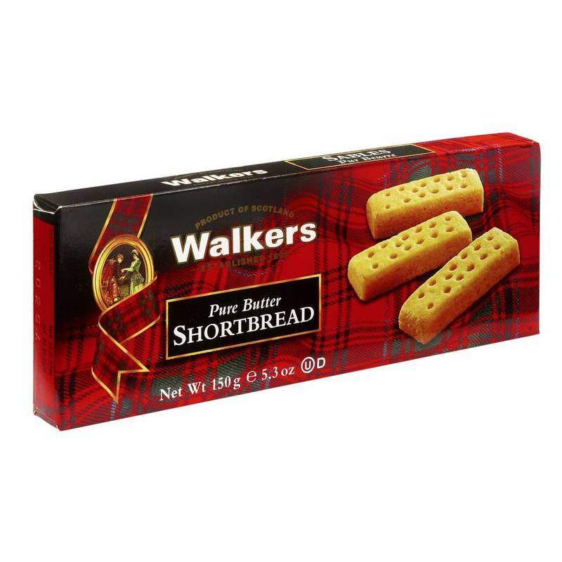 WALKERS SHORTBREAD FINGERS 100G