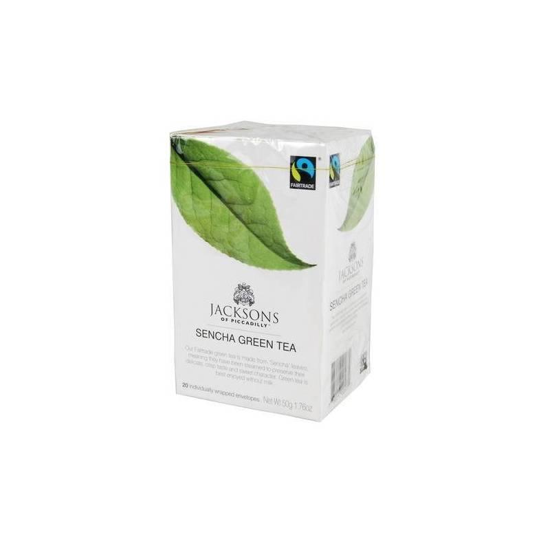 JACKSON'S PURE SENCHA GREEN TEA BAGS20S