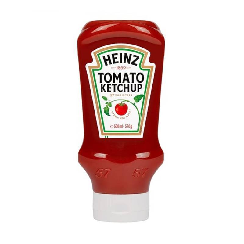 HEINZ KETCHUP 500ML best by 12/2018