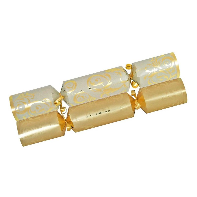CHRISTMAS CRACKERS - GOLD (10)