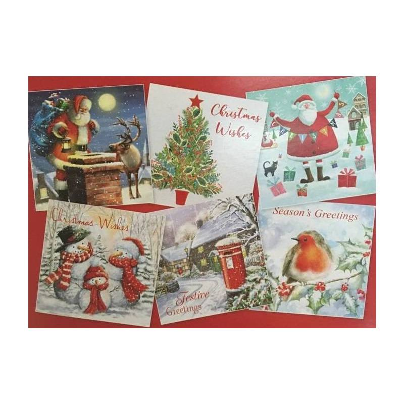CHRISTMAS - CARD SELECTION (30 cards)