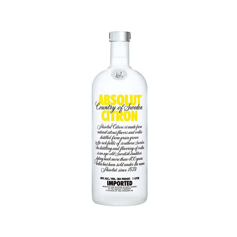ABSOLUT CITRON 1LT