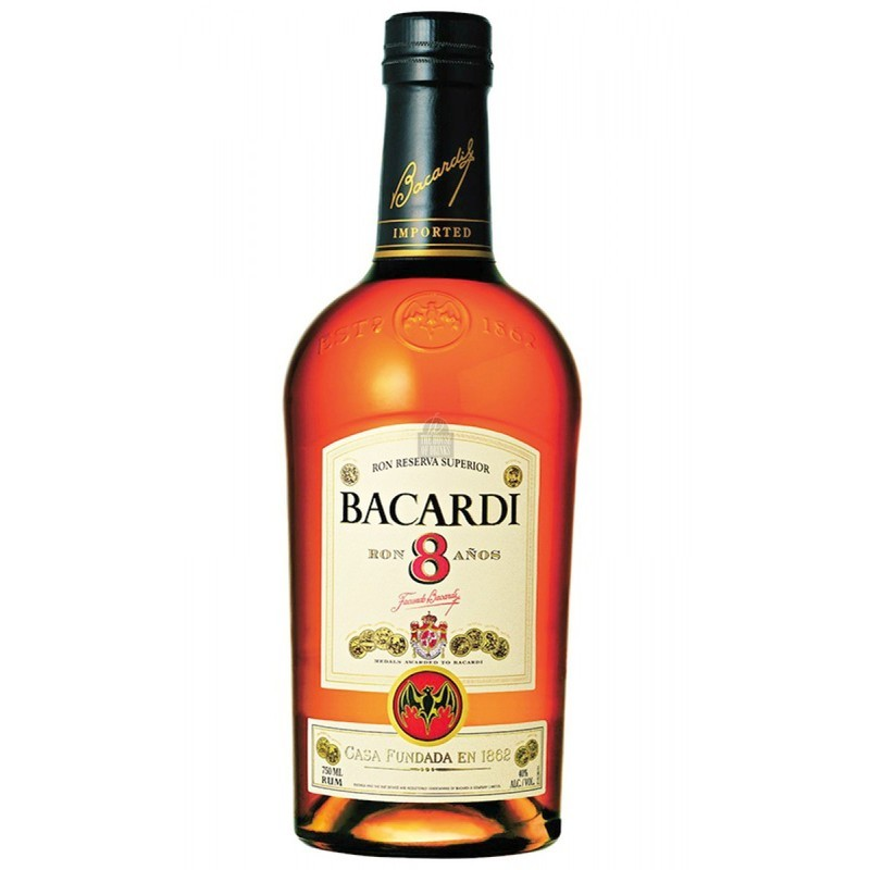 BACARDI GOLD RUM 70cl