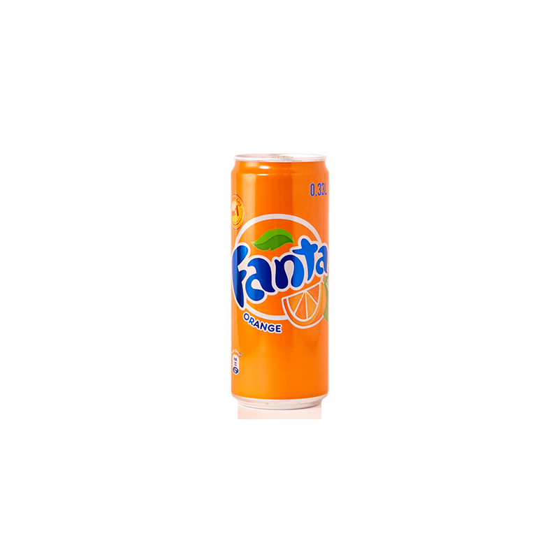 FANTA ORANGE CAN 0.33
