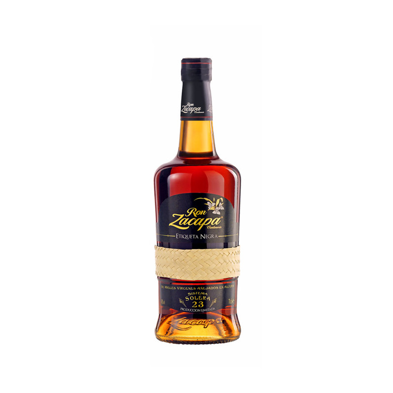 Ron zacapa rum etiqueta negra 23yo richmond 39 s british for Food bar zacapa