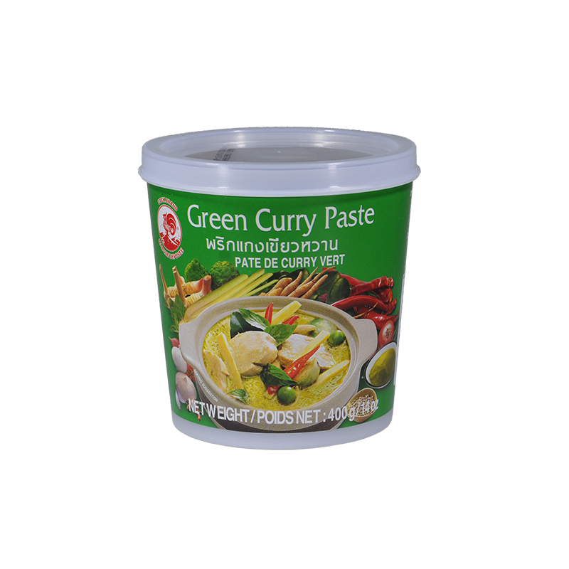 GREEN thai CURRY PASTE 400g cock | Richmond's British Food ...