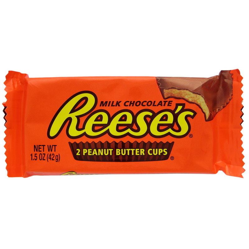 REESE'S PEANUT BUTTER CUPS (2)