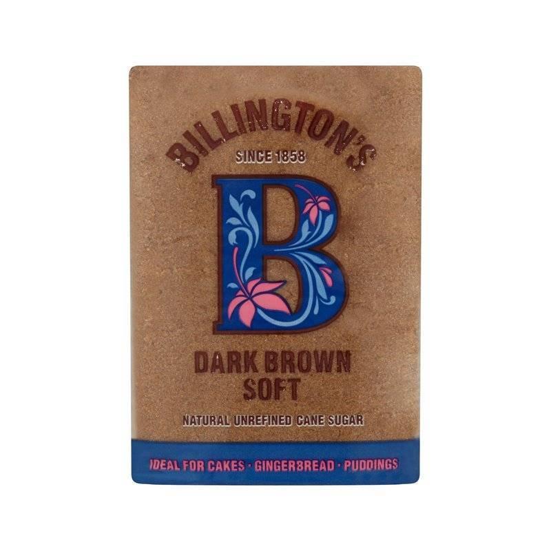 BILLINGTONS DARK BROWN SUGAR 500G
