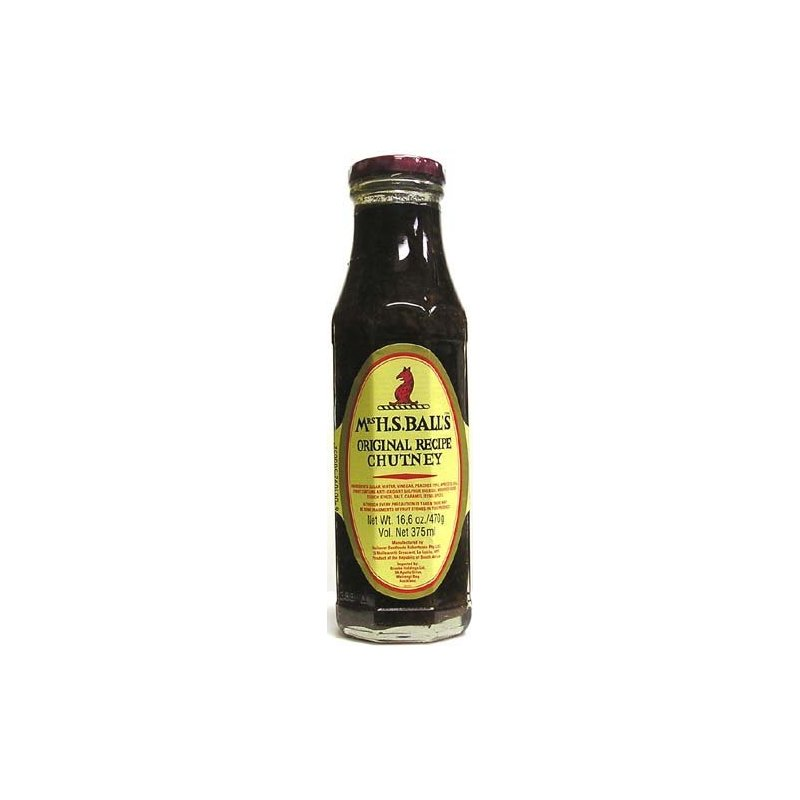 MRS. H. S. BALL'S ORIGINAL CHUTNEY 375ML