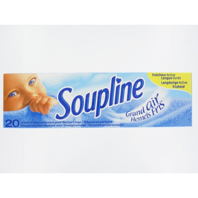 SOUPLINE DRYER SHEETS 20PK