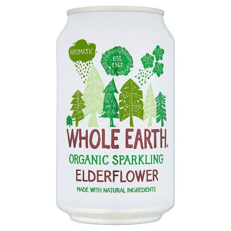 WHOLE EARTH BEVANDA GASSATA AI FIORI DI SAMBUCO BIO 300ML