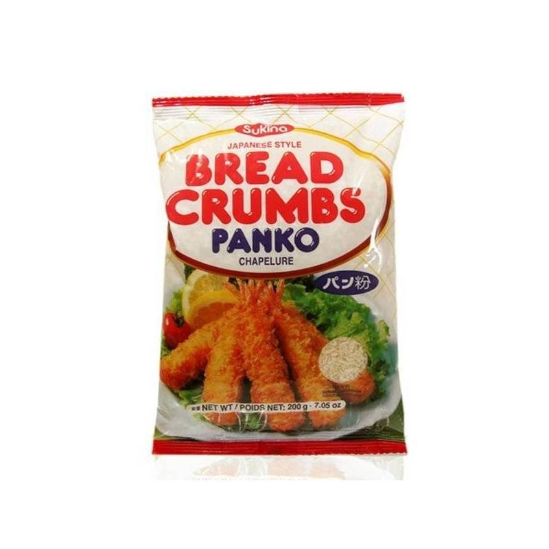 SUKINA PANKO BREAD CRUMBS 200g best by 15/01/2021