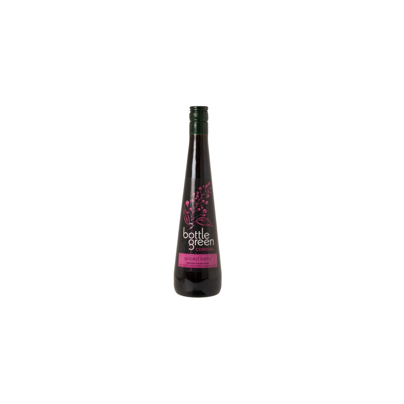 BOTTLEGREEN SPICED BERRY CORDIAL 500ML