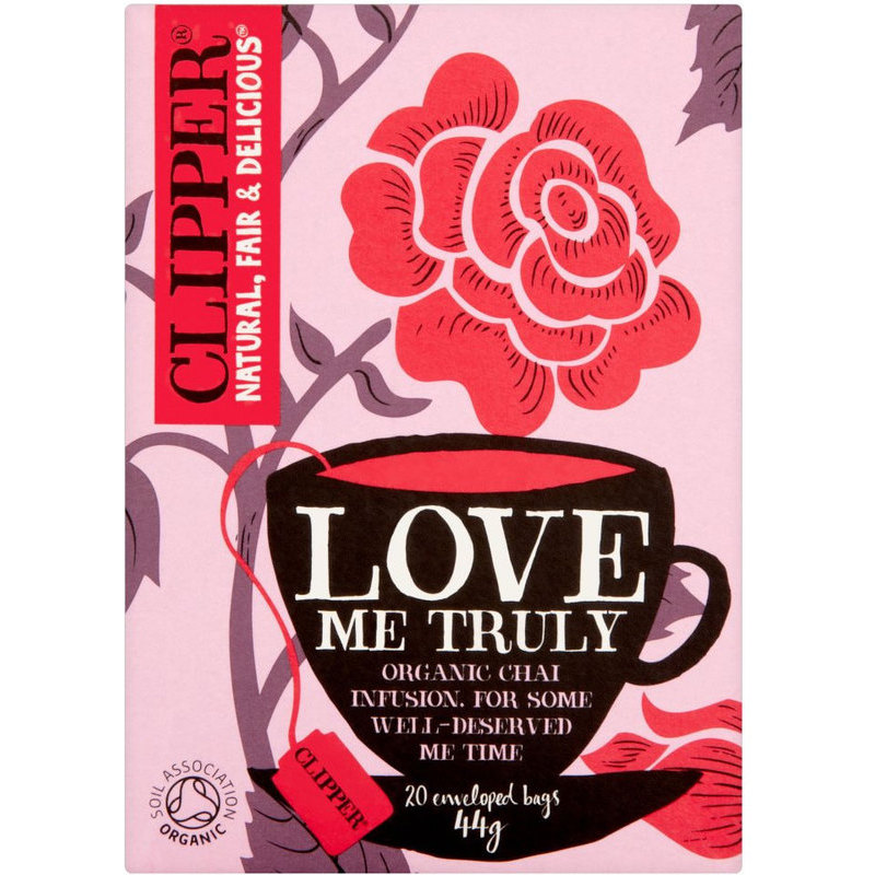 CLIPPER LOVE ME TRULY CHAI TEA 20S