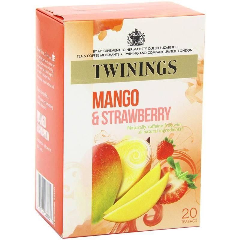 TWINING INFUSION STRAWBERRY & MANGO 20s