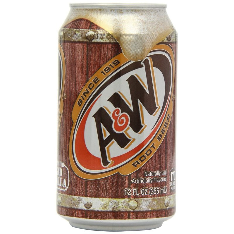 A & W ROOT BEER BIBITA GASSATA 355ML