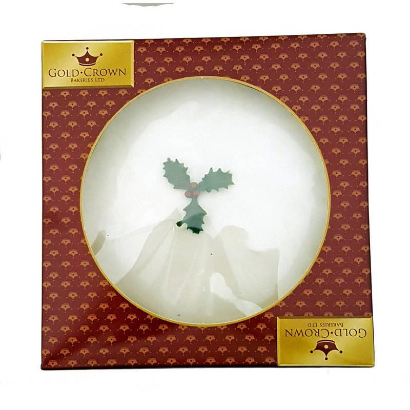 GOLD CROWN BAKERY ICED CHRISTMAS CAKE CAKE 681G