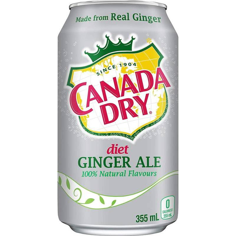CANADA DRY DIET GINGER ALE 33CL