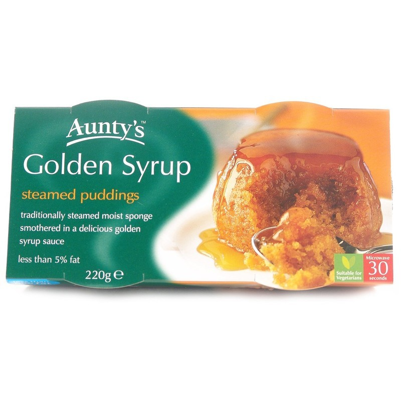 AUNTYS GOLDEN SYRUP PUDDING (2 X 100G)