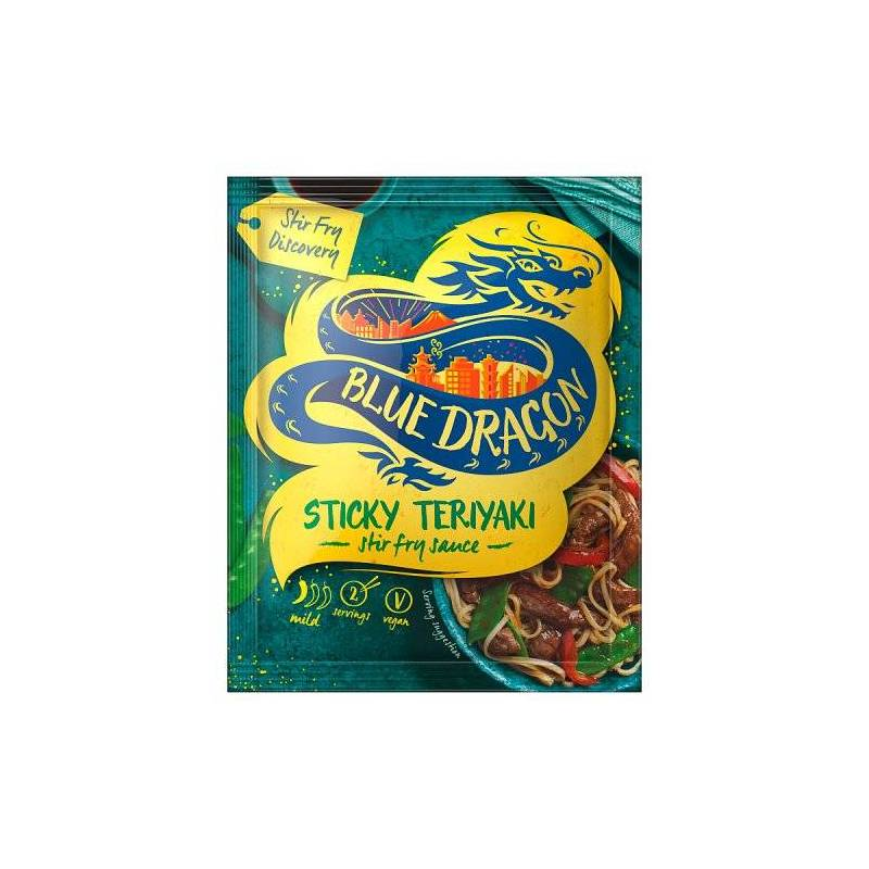 BLUE DRAGON TERIYAKI STIR FRY SAUCE 150ML