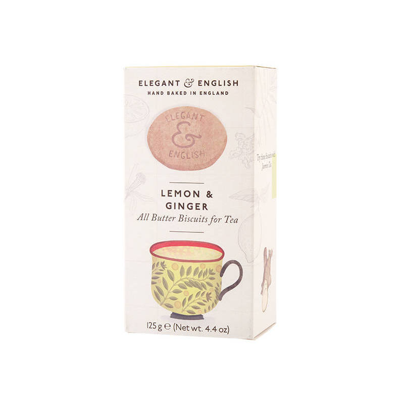 ARTISAN BISCUITS ginger and lemon 125G