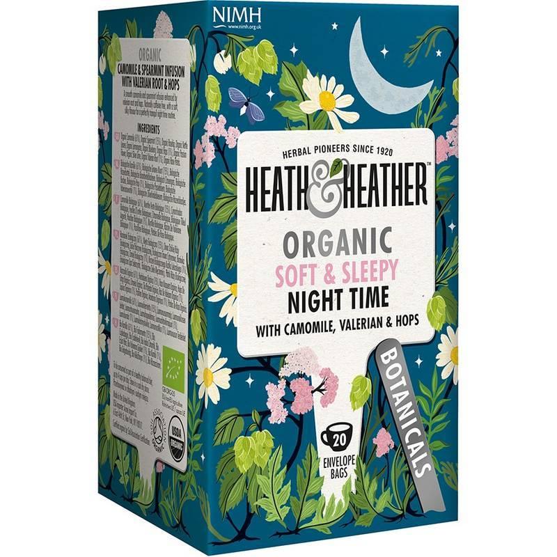 HEATH & HEATHER ORGANIC NIGHT TIME 20S