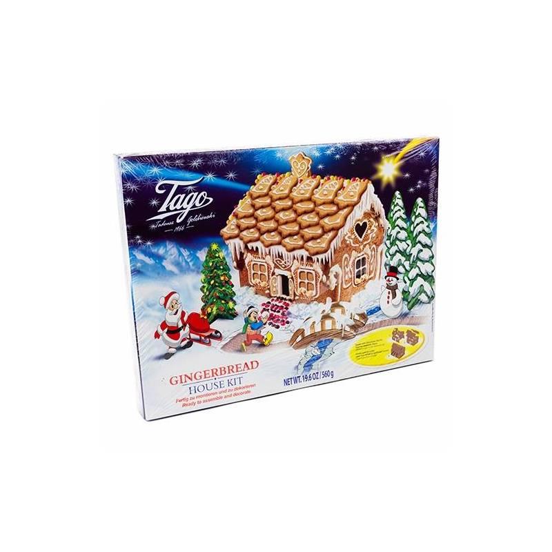 CHRISTMAS - TAGO GINGERBREAD HOUSE KIT 560G