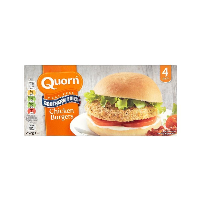 QUORN SOUTHERN FRIED BURGERS (4)