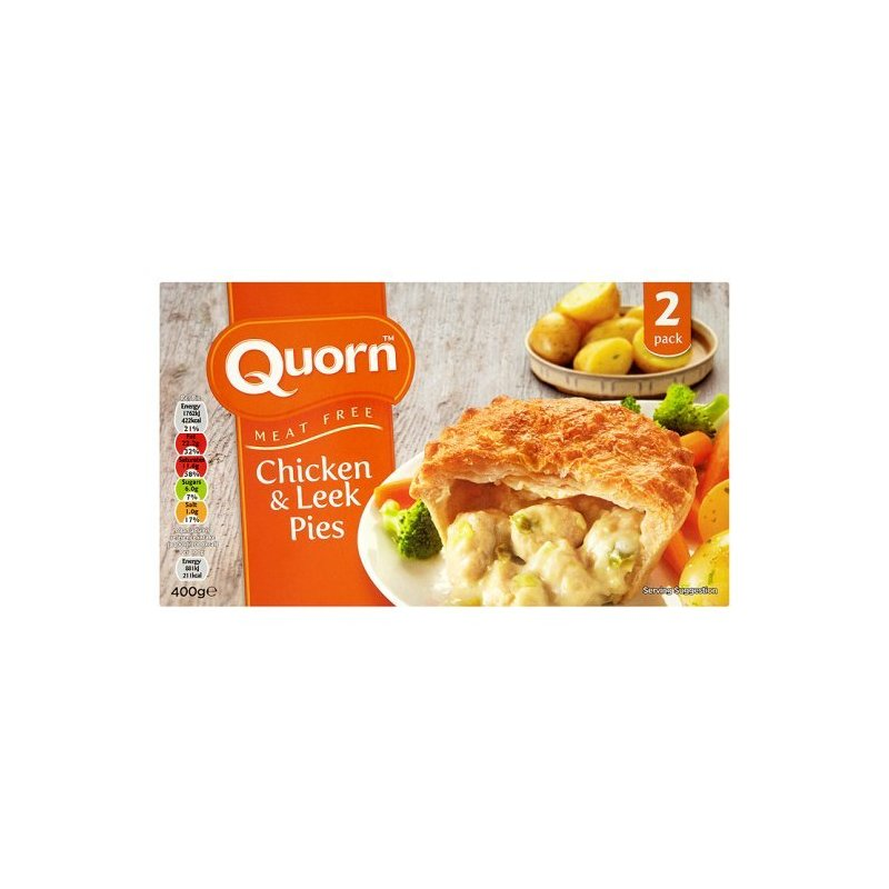 QUORN CHICKEN & LEEK PIE (2)