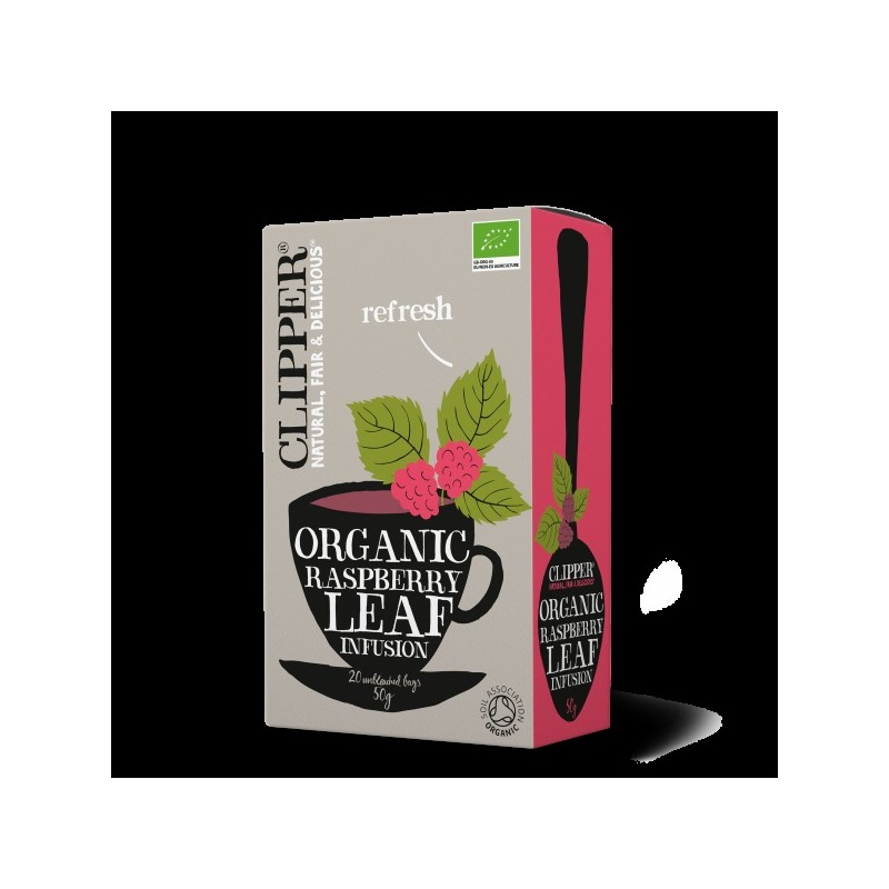 CLIPPER ORGANIC RASPBERRY LEAF INFUSION 20S