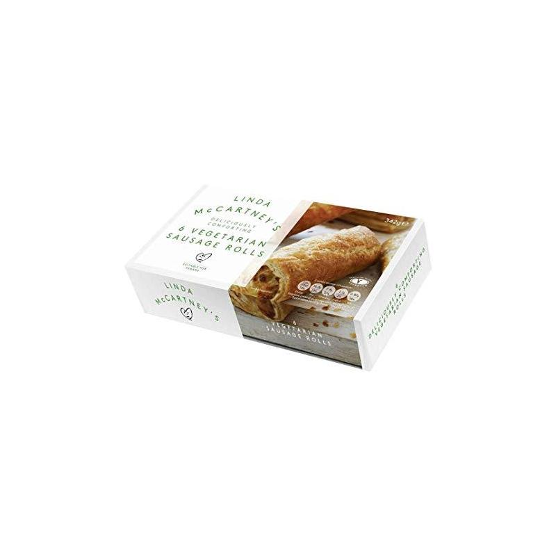 LINDA MCCARTNEY VEGAN SAUSAGE ROLLS 342G