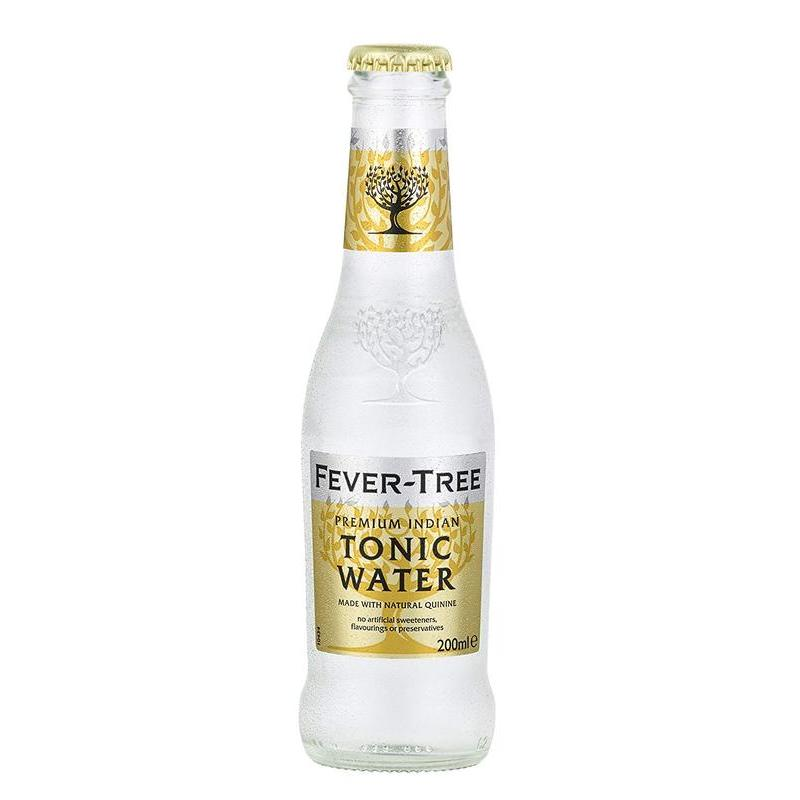 FEVER TREE TONIC WATER  200ML best by 08/2020