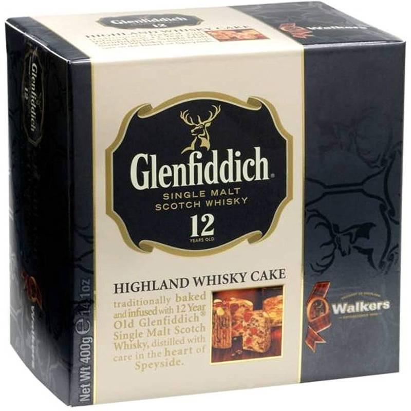 CHRISTMAS - WALKERS GLENFIDDICH CAKE 400G