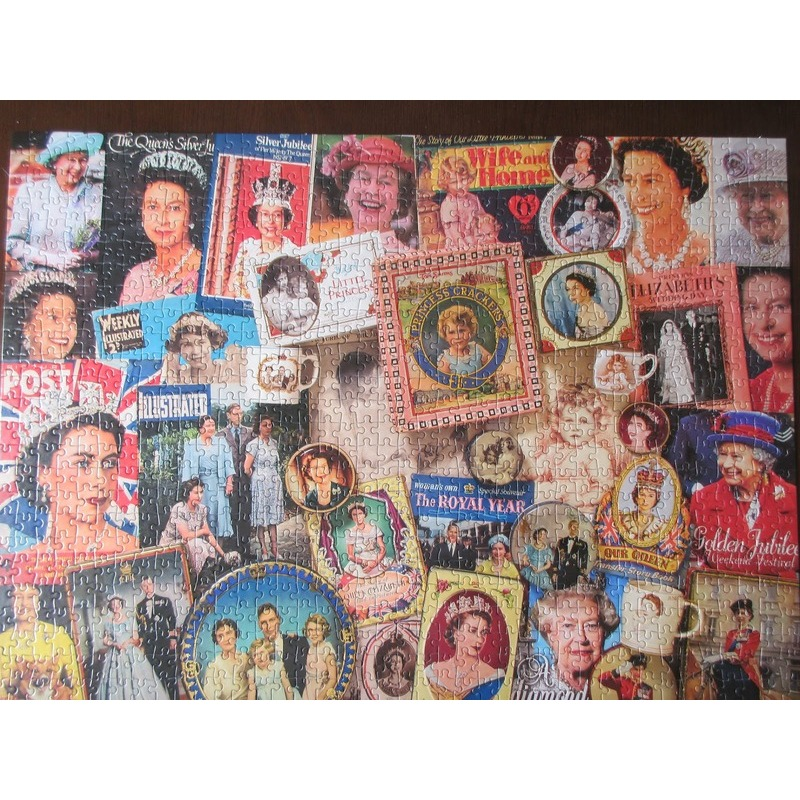 GIBSONS OUR GLORIOUS QUEEN PUZZLE