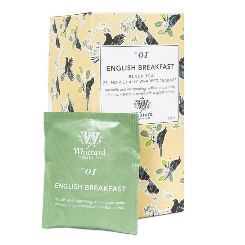 WHITTARD ENGLISH BREAKFAST Tè 25pz
