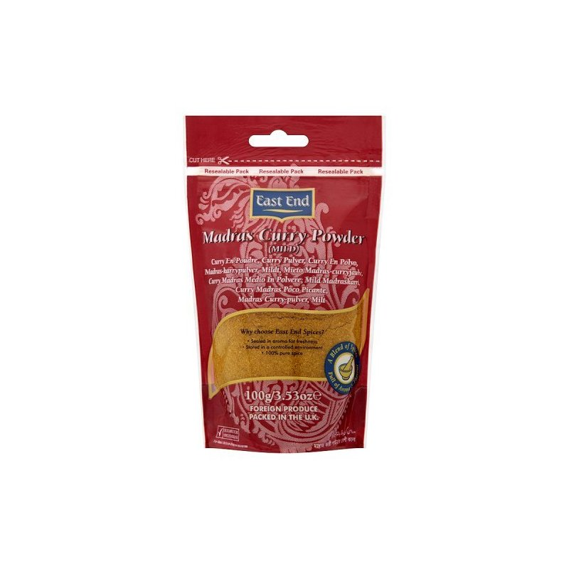 EAST END MADRAS CURRY IN POLVERE 100G