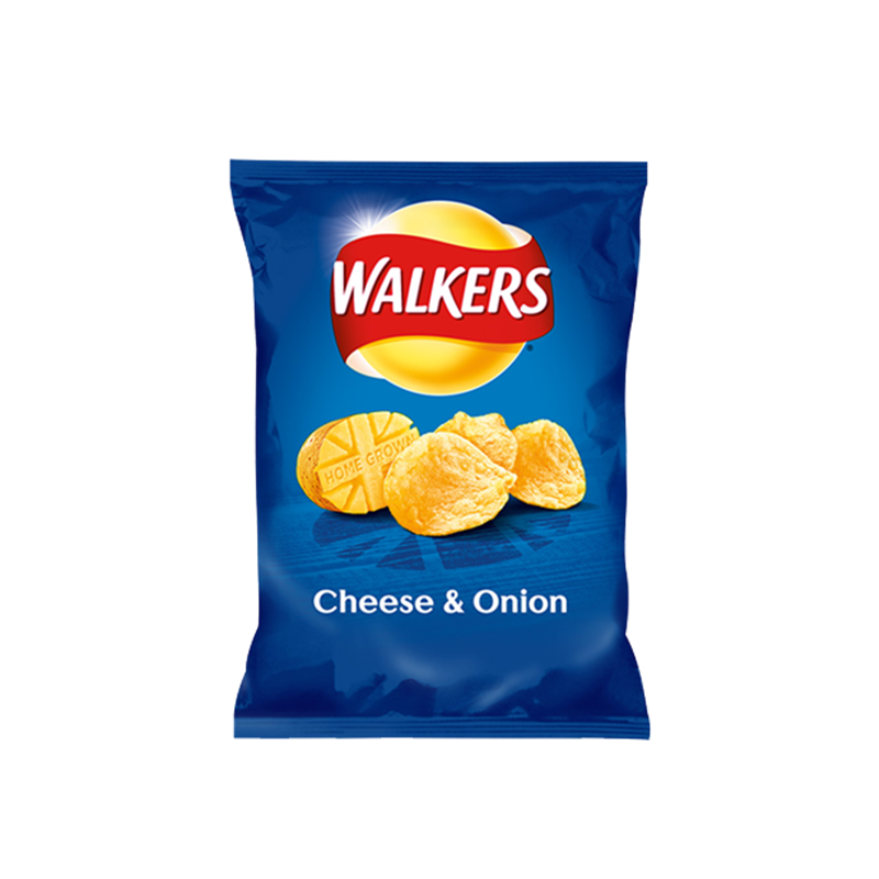WALKERS CHEESE & ONION GRAB BAG 50G
