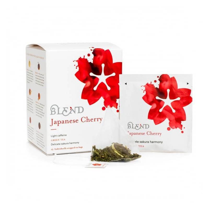 BLEND GREEN TEA JAPANESE CHERRY 15S
