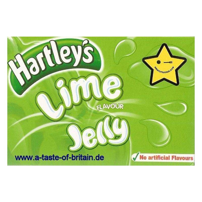 HARTLEY'S GELATINA AL LIME 135G