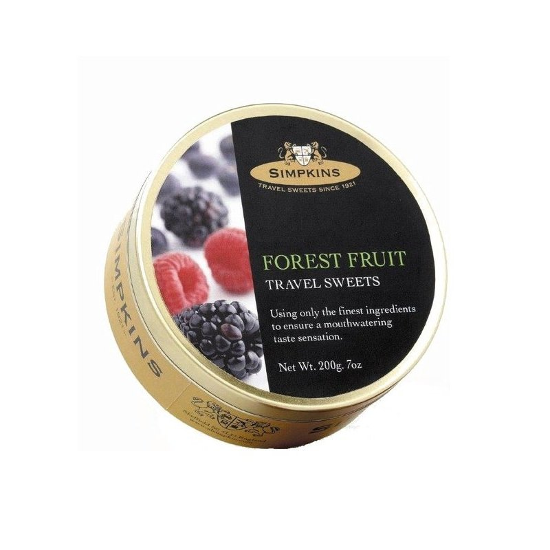 SIMPKINS FOREST FRUIT TRAVEL SWEETS 200G