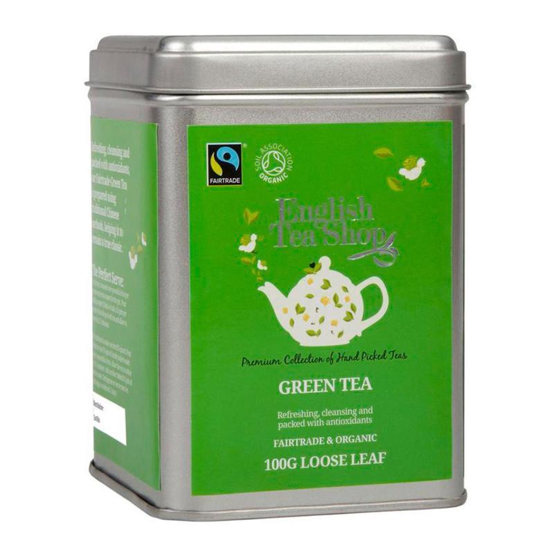 ENGLISH TEA SHOP LOOSE GREEN TEA TIN 100G