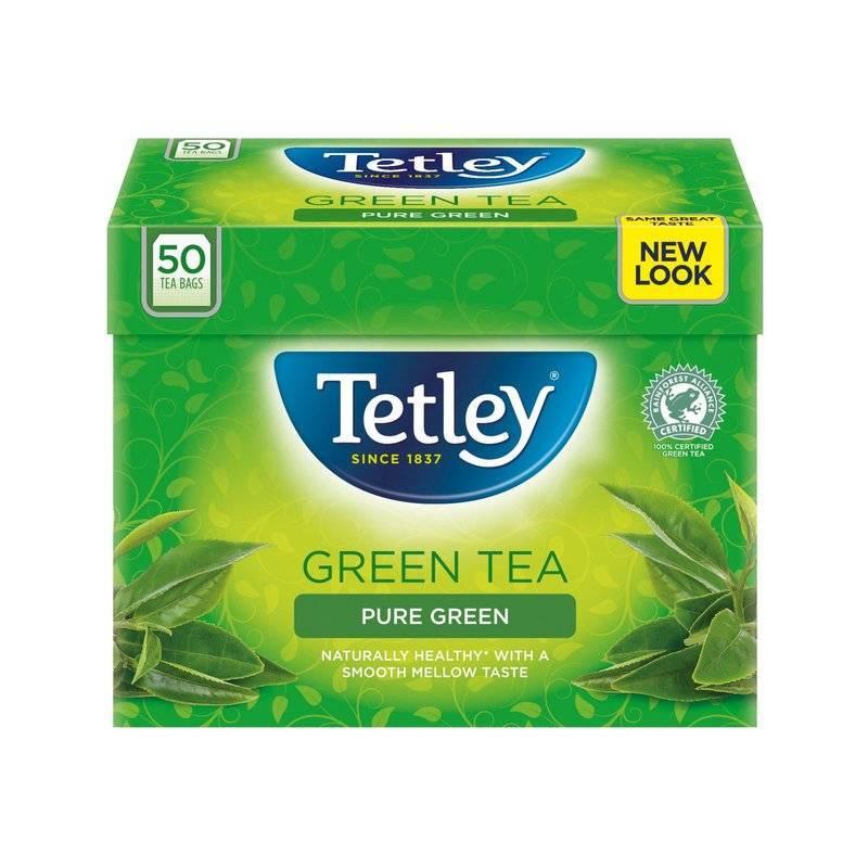 TETLEY GREEN TEA 50S