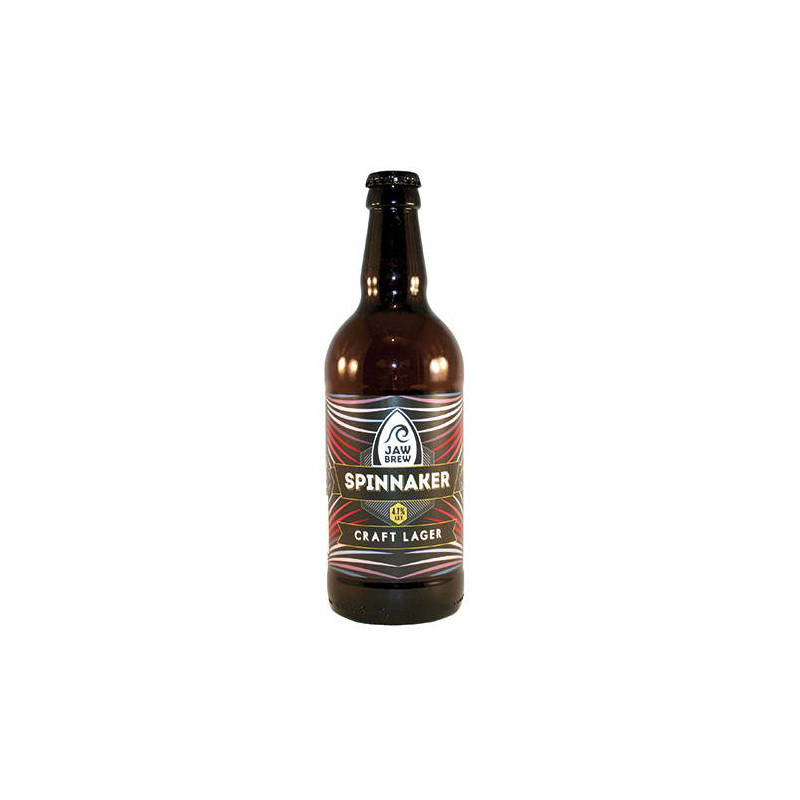 JAW BREW SPINNAKER LAGER 50CL
