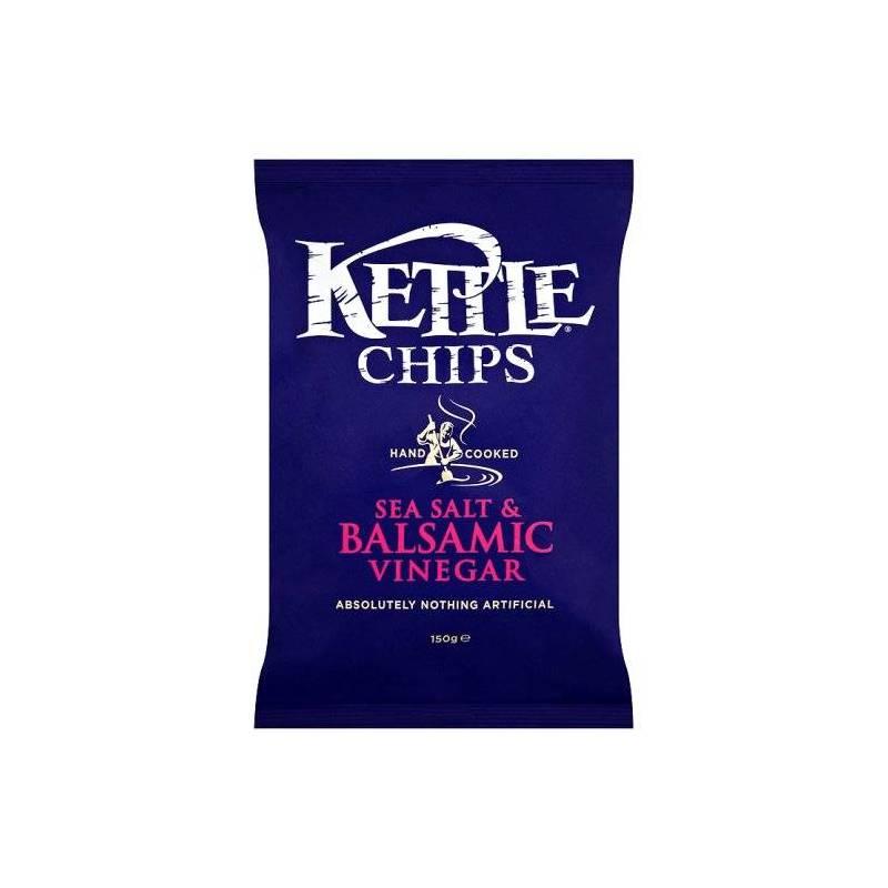 KETTLE CHIPS PATATINE AL SALE E ACETO BALSAMICO 150G