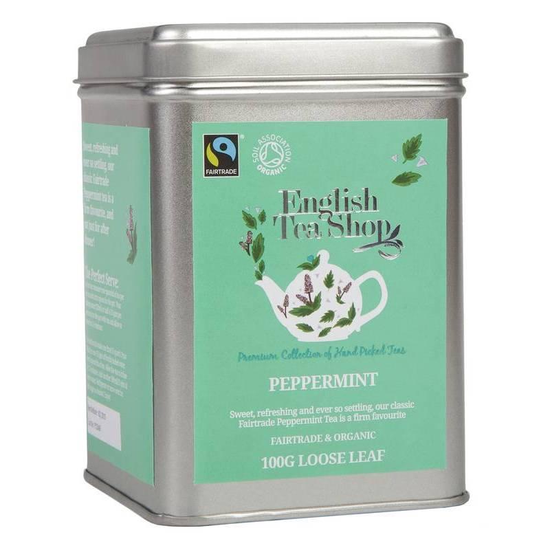 ENGLISH TEA SHOP LOOSE PEPPERMINT TEA 100G