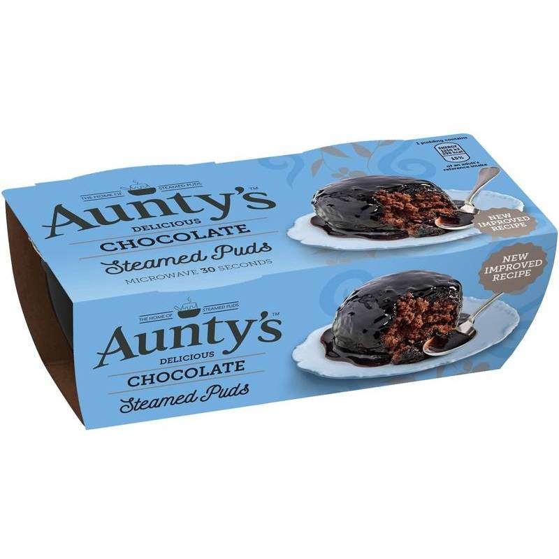 AUNTY'S CHOCOLATE FUDGE PUDDING 95g