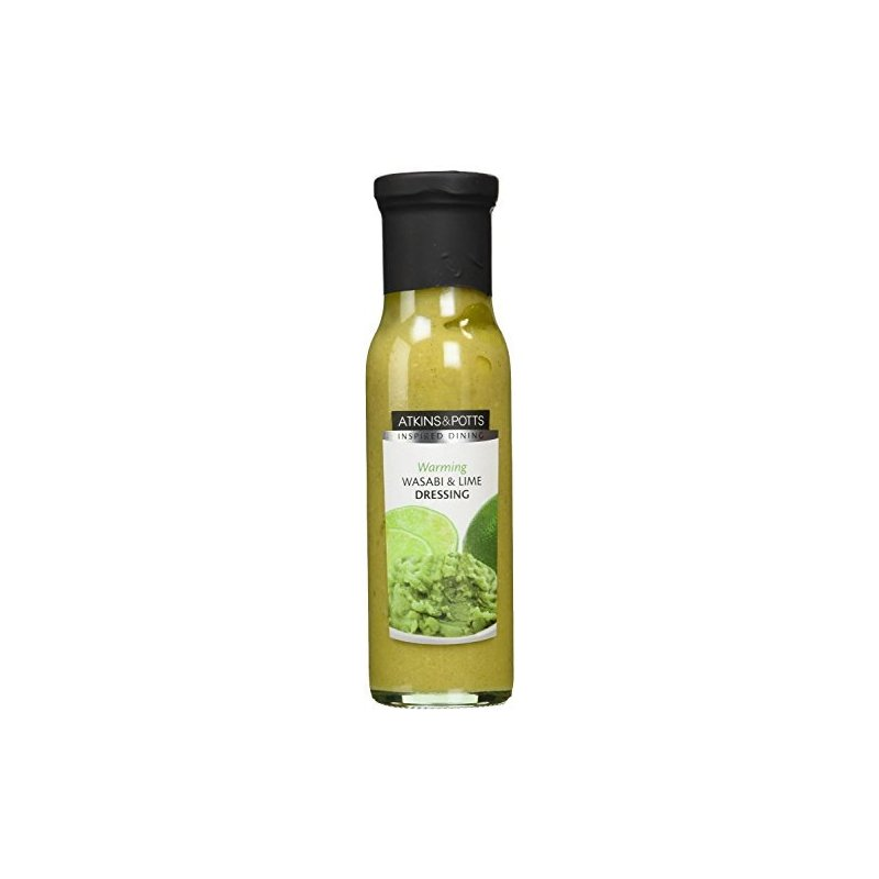 ATKINS & POTTS WASABI & LIME DRESSING 220G