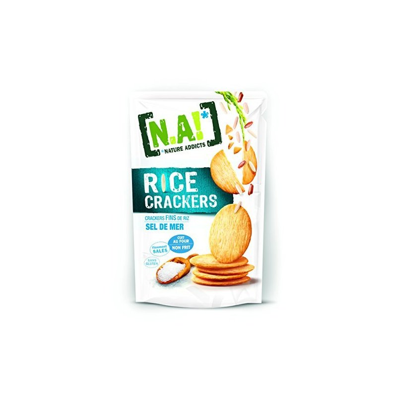 NATURE ADDICTS CRACKERS AL PEPE 70G