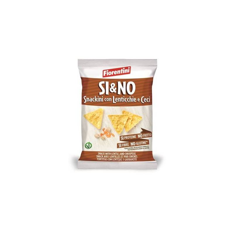 SI&NO LENTIL AND CHICKPEA SNACKS 20G